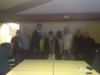 Meeting with Rob Maris MP -