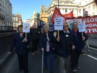 March against the Housing Bill -